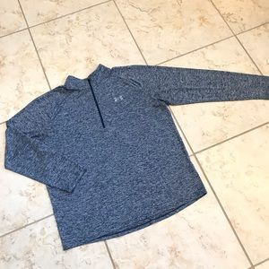 Under Armour 1/4 zip pullover-Men's (size Large)
